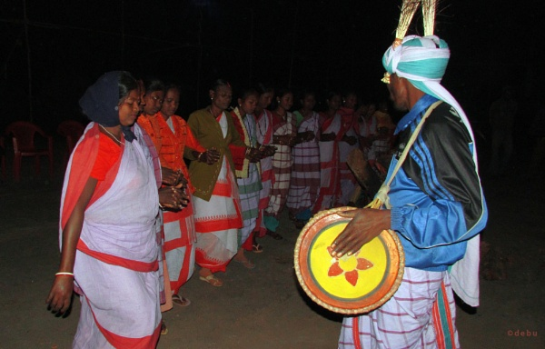 Munda tribe dance from Jharkhand... by debu