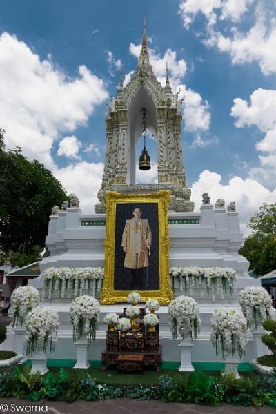 Late King Bhumibol - Thailand by Swarnadip
