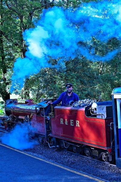 Steam up & ready to go by ANNDORASBOX