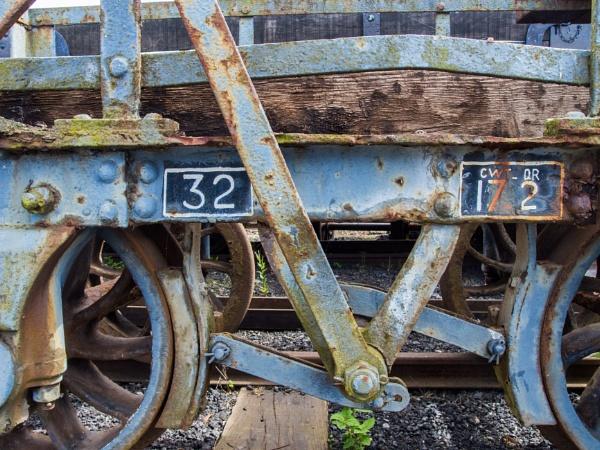 Slate Wagon by bwlchmawr