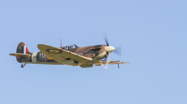 Duxford 2016 - Spitfire Mk 5b by TornadoTys