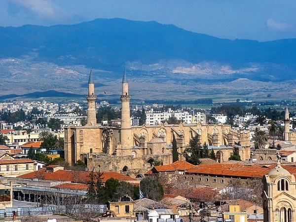The Selimiye Camii Northern Nicosia by geoffgt