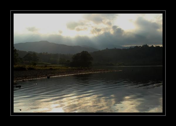Evening Light - Rydal Water