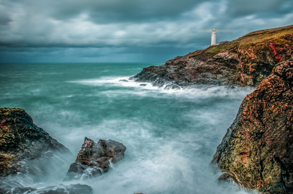 Trevous Head Lighthouse by JohnnyBG