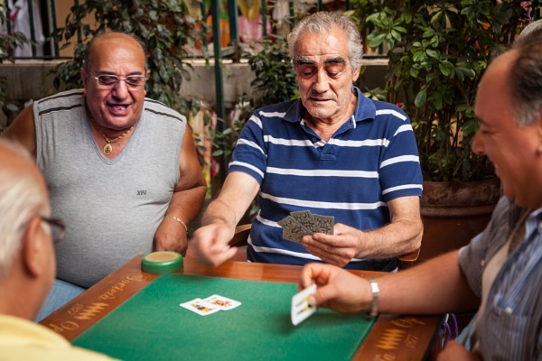 Card Players by JohnnyBG