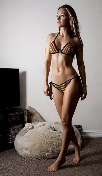 Crochet Bikini by Bogwoppett