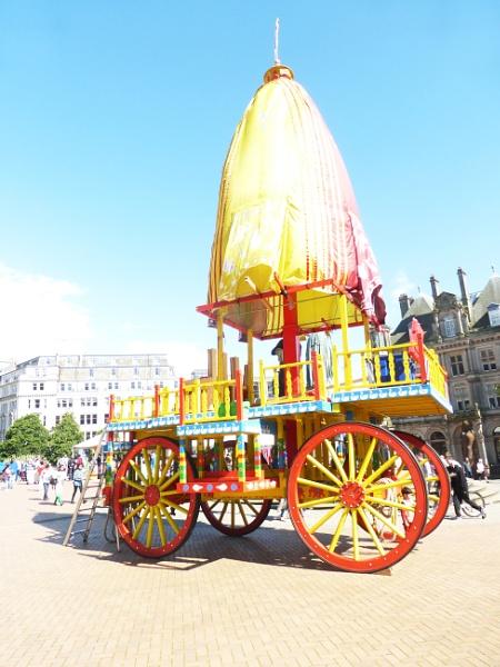 Here Krishna Wagon by happysnapperman
