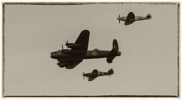 Battle of Britain Memorial Flight by Gordonsimpson