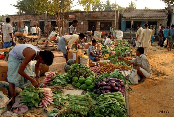 Village Vegetable Market...2 by debu