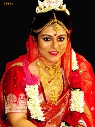 Happy Bengalee Bride