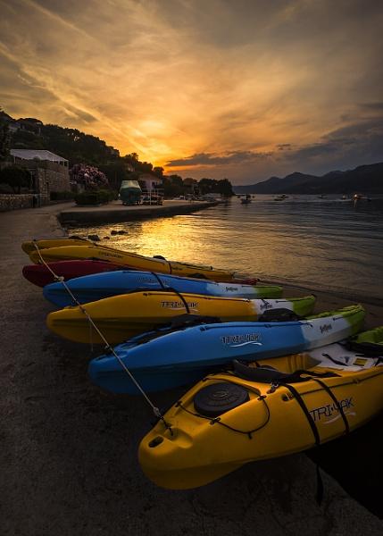Sunset Over Kalamota by BydoR9