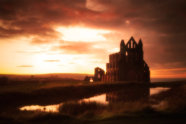 abbey sunset by kenwil