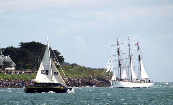 Sailing regatta - Brittany by JuBarney