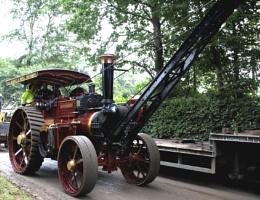 Steam engine Crane