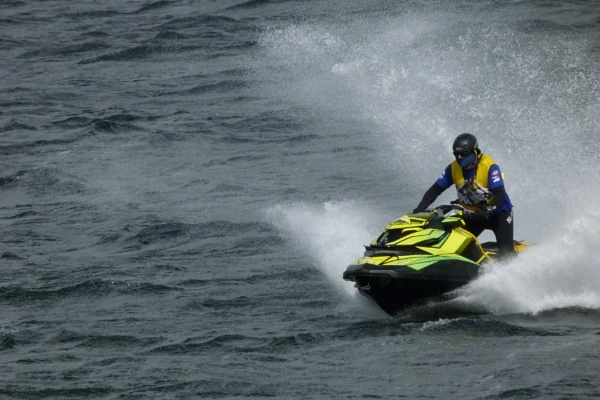 Jet Ski Athlete by pablophotographer