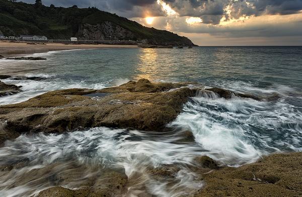 Greve De Lecq Sunset by happysnapper