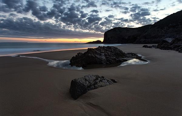 Plemont at Dawn by happysnapper