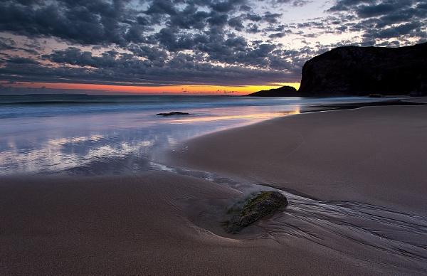Plemont Bay at Dawn by happysnapper