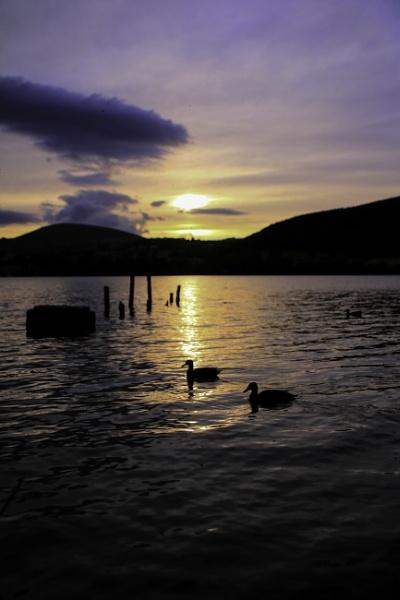 Sunset at Ullswater by RPilon63