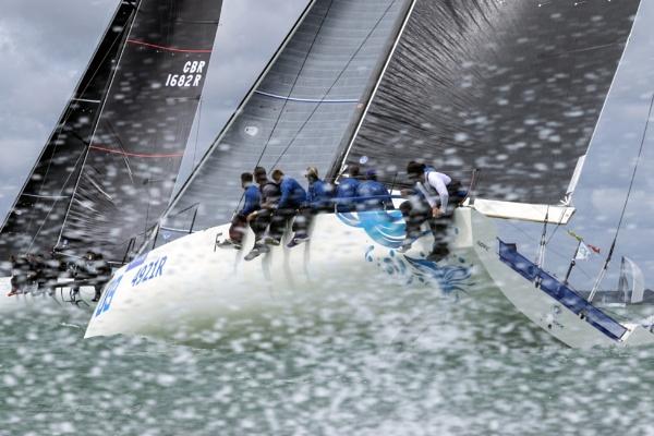 Wind, Spray and Sail by HansNeesand
