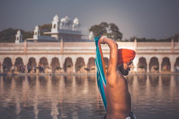 Sikh Devotee by YasserAlaaMobarak