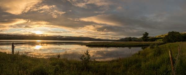 Fishing at sundown by Sue_R