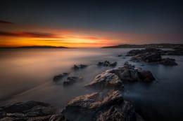 Symbister sunset