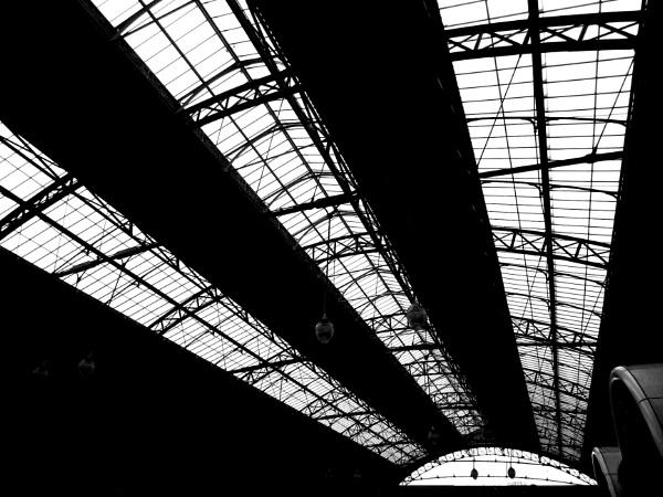 Train Station Roof by RysiekJan