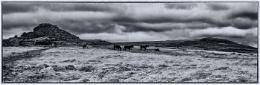 Looking over Dartmoor