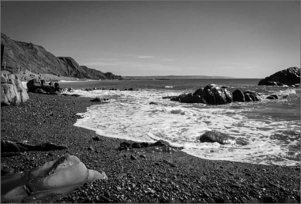 Sandymouth, Cornwall.