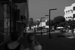 Saturday shadows in Puerto del Rosario