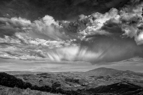 Mountain storm by mlseawell