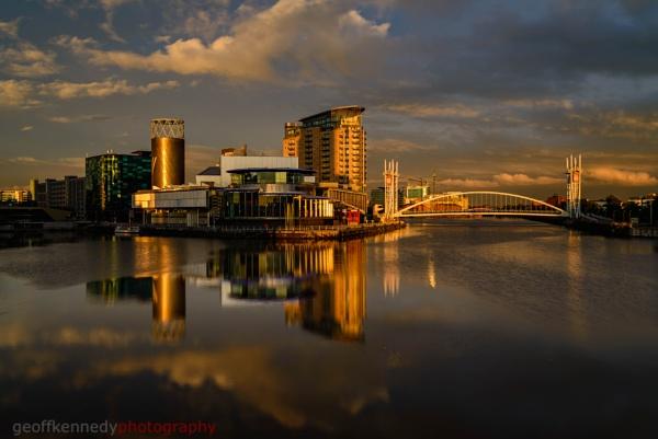 Light on Media City by geffers7