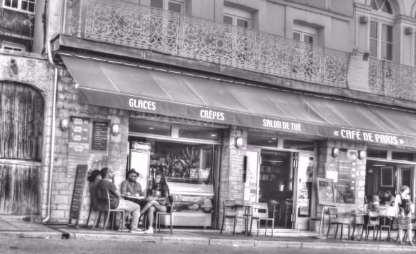 Cafe De Paris, HonFleur by Hamlin