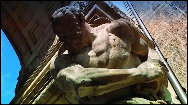 the bodybuilder by FabioKeiner