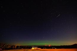 last Nights Meteors