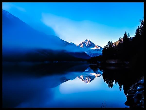Misty mountain by Alex4xd
