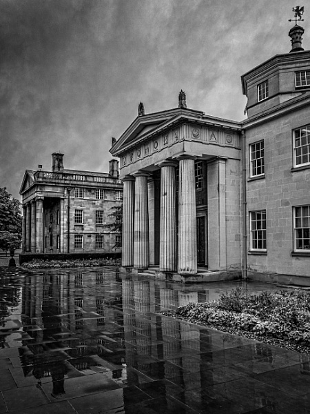 Downing College by Galster