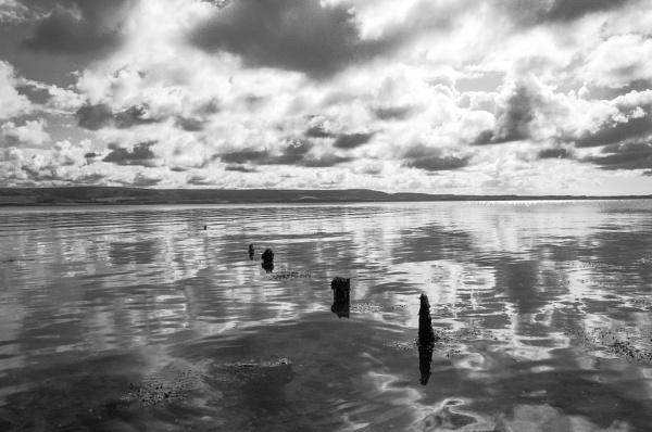 Seashore around Wig Bay Galloway by Backabit