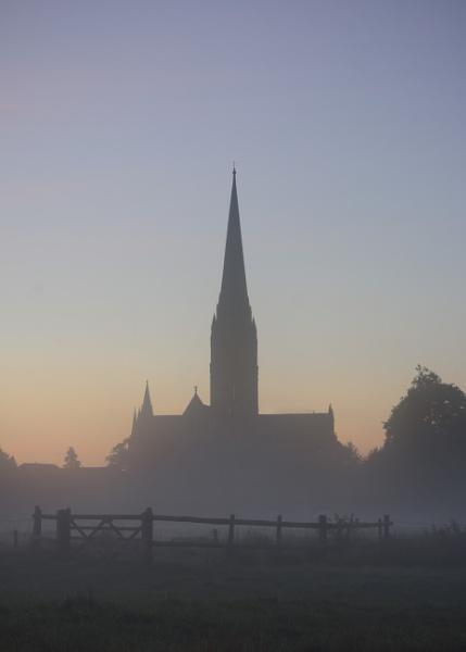 Misty Dawn Spire by TheHucklebrookHound