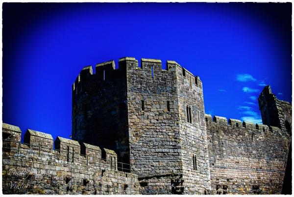 Caernafon castle by Sambomma