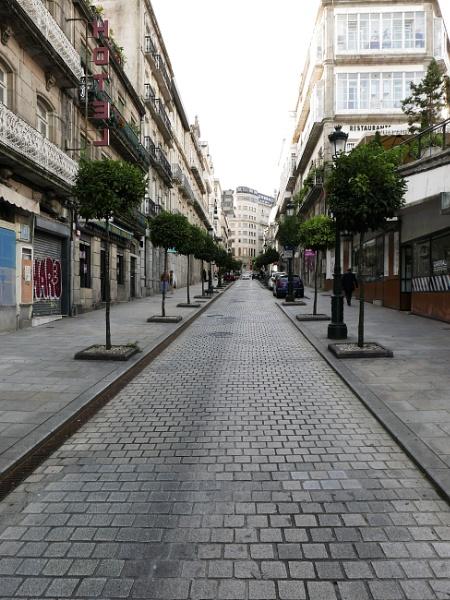Rúa Carral, Vigo, Galicia by tonycullen