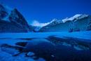 Lake Louise at dawn by edrhodes