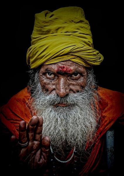 Namaste by sawsengee