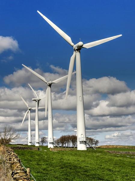 Wind Farm by harrywatson