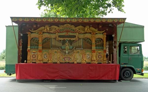 Fairground Organ by Hurstbourne