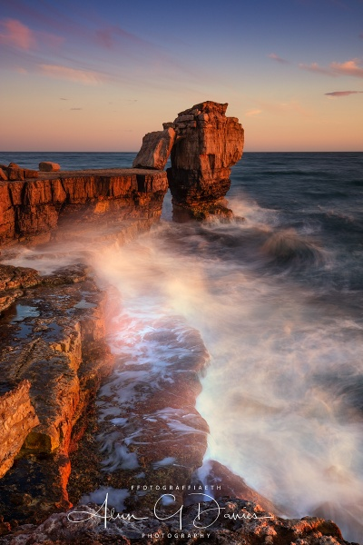 Evening at Pulpit Rock by Tynnwrlluniau