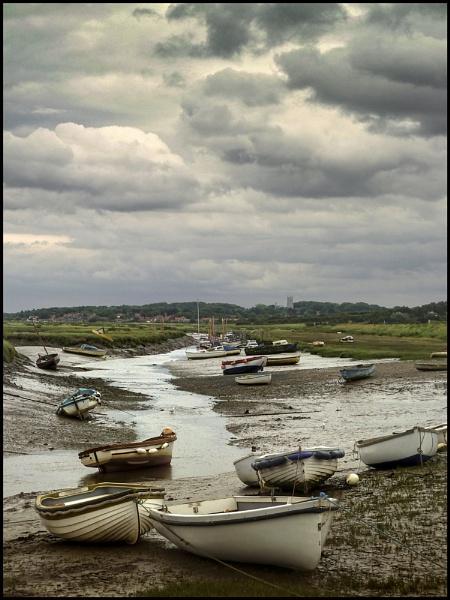 Low tide, Morston Quay. by Niknut