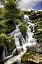 Nant y Gerdinen Falls by daibev