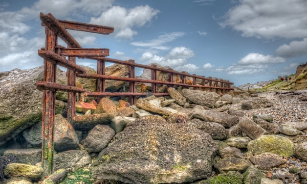 Reculver Sea Defences by carper123